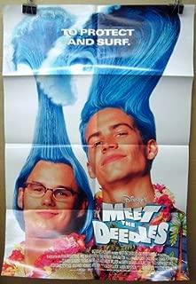 Movie Poster Meet The Deedles Paul Walker Steve Van Wormer Lot004
