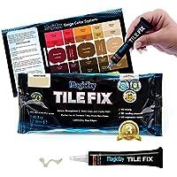 MagicEzy Tile Fix: rellena y colorea grietas de baldosas finas en segundos (Honey-Beige)
