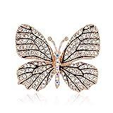 Sunger Broche y Pines para Mujer, Estilo Retro, Broche de Lujo, Broche de Cristal, para Vestido de Boda, decoración