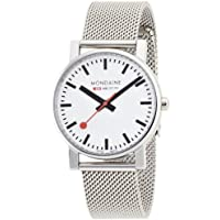 Mondaine Men's A658.30300.11SBV Quartz Evo Steel Band Watch