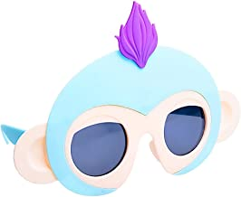 Sun-Staches SG3397 Officially Licensed Fingerlings Turquoise Monkey , Turquoise, Purple, Beige, One Size