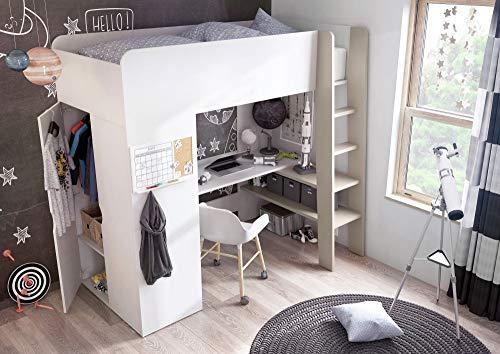 Etagenbett Multifunktions Bett Hochbett Tom mit Matratze