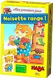 HABA 303470 - Mes Premiers Jeux – Noisette Range! - Un jeu coopératif d'organisation à partir de 2 ans (Fabriqué en...
