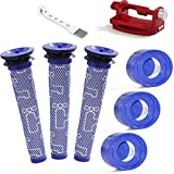 3 Pack Pre-Filters & 3 Pack Post-Filters Replacement...