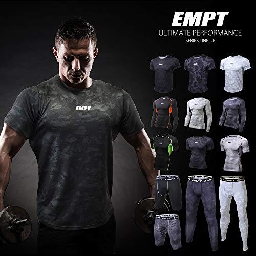 EMPT(イーエムピーティー)『メンズコンプレッションウェアトップス』