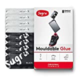 Sugru Moldable Glue - Original Formula - All-Purpose Adhesive, Advanced Silicone Technology - Holds up to 2 kg - Black & White 8-Pack