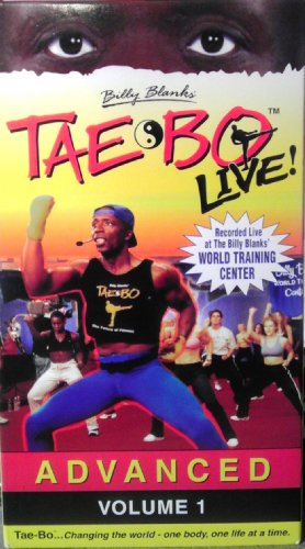 Price comparison product image Billy Blanks' Tae Bo Live: Advanced,  Volume 1 [VHS]