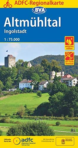 ADFC-Regionalkarte Altmühltal Ingolstadt, 1:75.000, reiß- und wetterfest, GPS-Tracks Download (ADFC-Regionalkarte 1:75000)