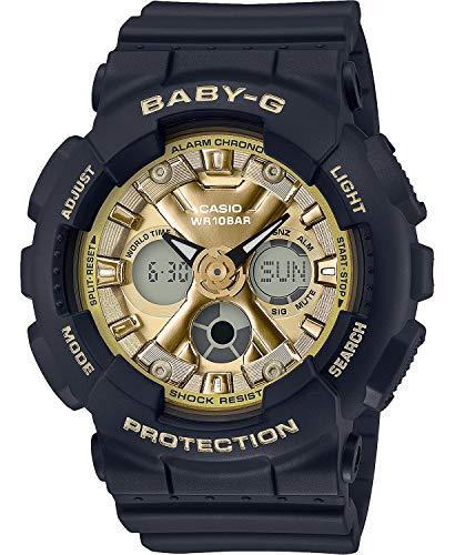 Casio BA130-1A3 - Reloj analógico digital para mujer, color negro