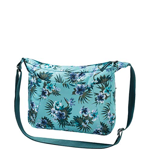 Jack Wolfskin Damen Valparaiso sac à bandoulière Umhängetasche, Blau (Tropical Blue), One Size
