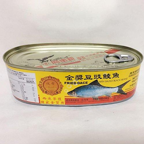 豆??魚 豆鼓魚 うぐいとトウチのうま煮 魚缶詰 184g