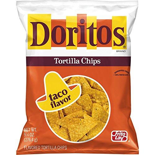 Doritos Flavored Tortilla Chips, Taco, 10.5 Ounce