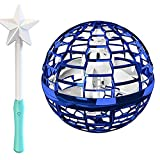 Ruiodr Spinner Flying Ball Space orb Mini Drone UFO Boomerang with Remote Control Gift Toy for Boys Girls Kids Children