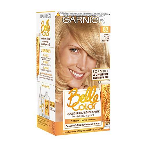 Garnier Coloration N° 83 Blond Clair Doré Naturel - Lot de 2
