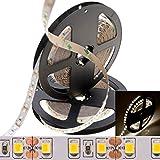 Probeangebot ! deutsche Marke DEMODU® - ECO 12V LED Streifen für tolle DIY-Projekte zu Hause - Neutralweiß 4000K 5m 600 SMD 2835