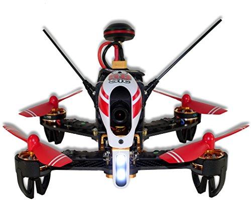 Dromocopter f58sic–Drone Racing del sic FPV RTF con radiocontrol DEVO7