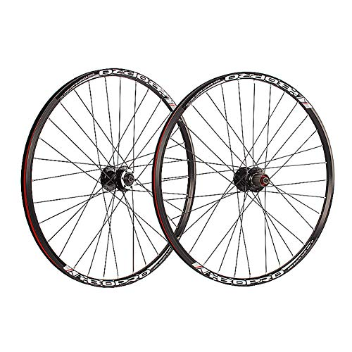 TABN Mountainbike Selbstgebauter Radsatz 26 27,5 Zoll 700C Scheibenbremskartendrehfelge Aus Aluminiumlegierung,27.5