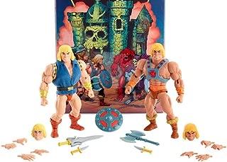 MOTU Origins SDCC He-Man and Prince Adam 2 Pack