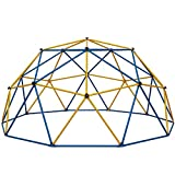 Albott Geometric Dome Climber 10' x 5' - Anti-Rust Jungle Gym Outdoor UV-Resistant Kids Climbing Dome - 800 LBS Weight Capacity - Safe for 1-6 Kids Climbing