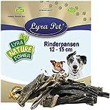 Lyra Pet® 10 kg Rinderpansen 10000 g getrocknet groß Pansen Rind Kausnack Hund