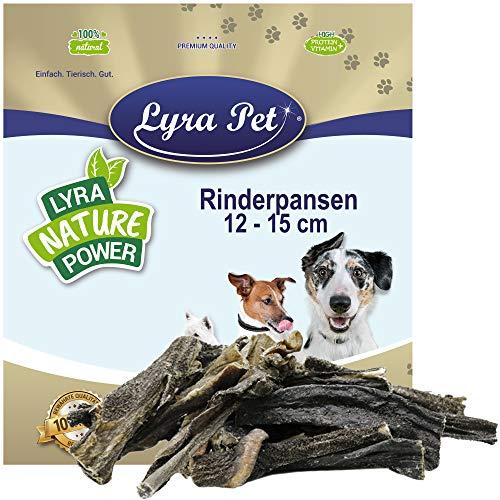 Lyra Pet® 1 kg Rinderpansen 1000 g getrocknet groß Pansen Rind Kausnack Hund