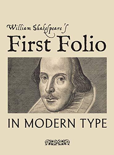 William Shakespeare's First Folio in...