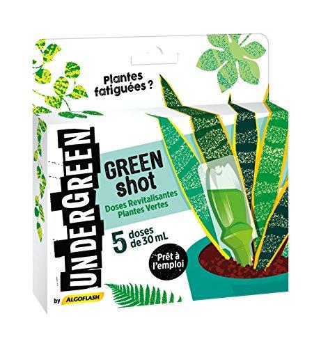 UNDERGREEN Green Shot Doses Revitalisantes, 30 ml