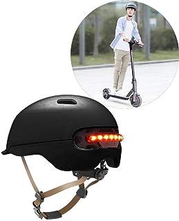 Dedeka Casco Bicicleta con luz LED para XIAOMI M365, Casco