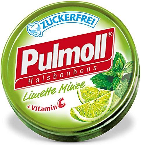 Pulmoll Pastillen-Set mit Limette und Minze, 10 x 45 g