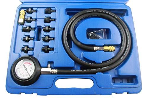 US Pro 5388 Öldruckmesser Öldruckprüfer Öldruckmessgerät 12-tlg. Öldrucktester Werkzeug