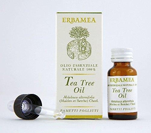 Erbamea Integratore Alimentare Tea Tree Oil, 10 Millilitri