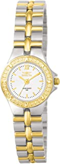 Invicta Women's Wildflower 0136 Gold Stainless-Steel Swiss Quartz Fashion Watch