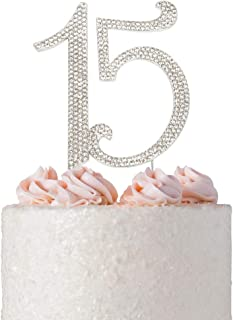Best sparkly number cake toppers Reviews