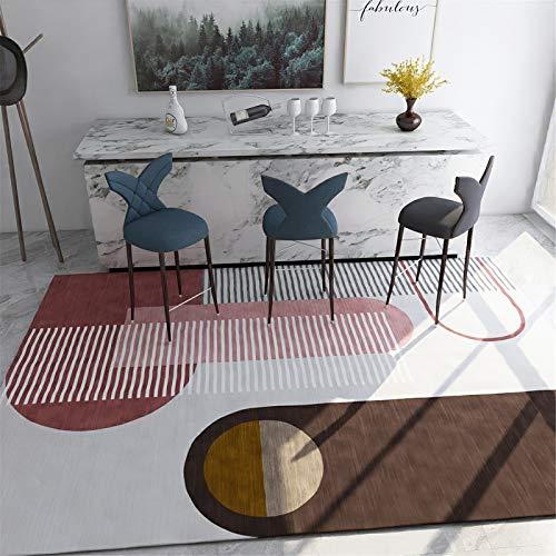 MMHJS Alfombras Rectangulares A Gran Escala para Ambientes Domésticos Adecuadas para Alfombras De Sala De Estar Y De Estudio 140x200cm