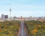 1art1 Berlin, Blick Über Die Stadt, Von Der Siegessäule
