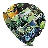 AEMAPE Gorro de Punto Green-LAN-Tern Beanie para Hombres y Mujeres Gorro de Calavera Liso con puños Unisex Gorro de Punto de Invierno Slouchy Warm Skully Cap