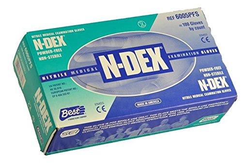 Best - N-DEX - Disposable Nitrile - Box Size Medium
