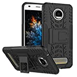 MRSTER Moto Z2 Play Hülle, Outdoor Hard Cover Heavy Duty