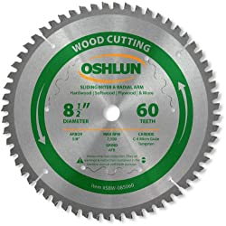Oshlun SBW-0805060 8-1/2-Inch Tooth Saw Blade Review