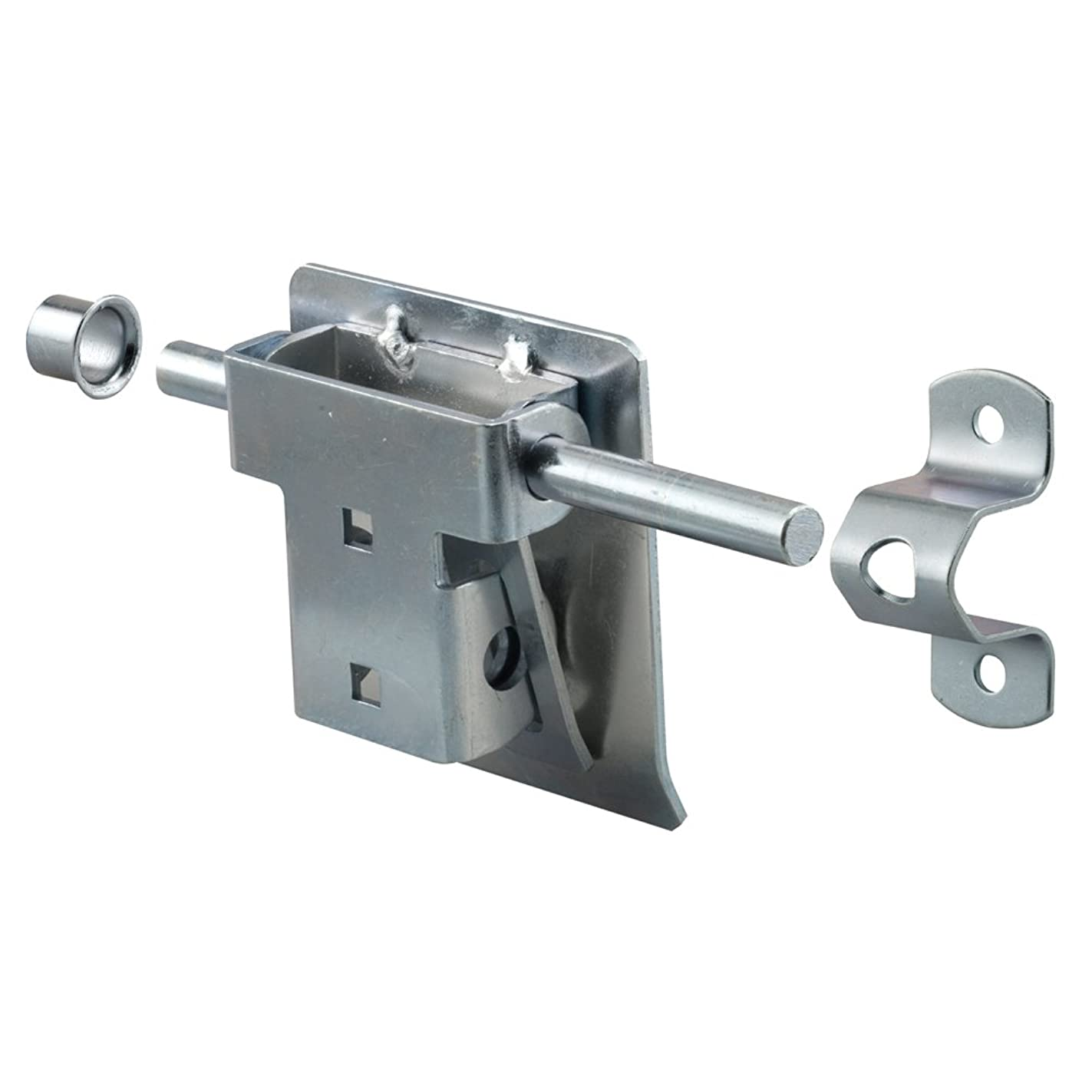 Prime-Line Products GD 52241 Garage and Shed Latch, Tamper Proof with Fastners, Heavy Duty Steel