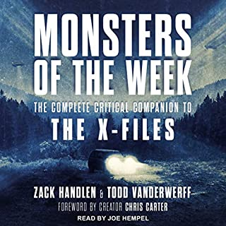 Monsters of the Week audiobook cover art