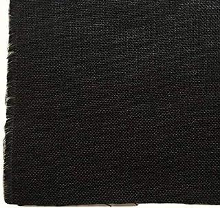 ジュート生地 麻生地 カラー 2mカット生地 幅約125cm ブラック