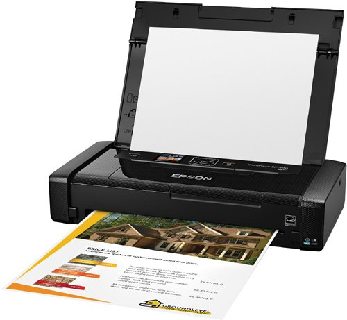 Epson Workforce WF-100 Wireless Color Mobile Printer, Compatible with Alexa (Renewed) Photo #7