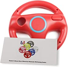 GH Mario Kart 8 Wheel for Nintendo Wii , Steering Wheel for Remote Plus Controlle - Mario Red (6 Colors Available)