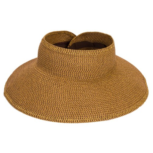 San Diego Hat Company UBV002 Sun Hat Visor Multi Honey One Size