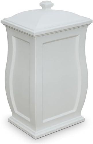 Mansfield de stockage Poubelle en blanc