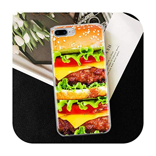 Who-Care Funny Food Dessert Chocolate Beer Phone Case For Iphone 11 Pro Xr 6 6S 7 8 Plus 4S 5S Se Xs Max Cookies Fries Tpu Silicone Case-Tpu A336-For Iphone 5 5S Se