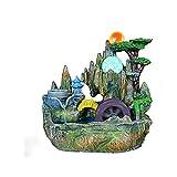 Diaod Esculturas Corriente de Agua Adornos de Resina, la decoración de la Sala...