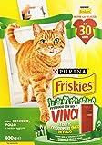 Sheba Friskies Adult 400 Gr.Co/Ve/Po 200 ml