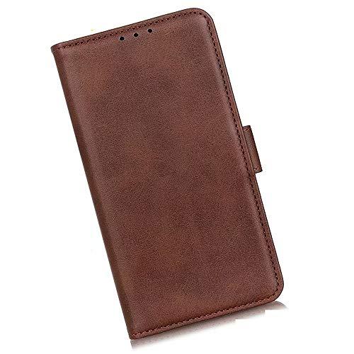 Boleyi Schutzhülle für Motorola Razr 5G, [ Magnetverschluss, Kartenfach, Standfunktion ] Handytasche Flip Brieftasche Schutzhülle Magnet Wallet Hülle Tasche Lederhülle für Motorola Razr 5G,braun